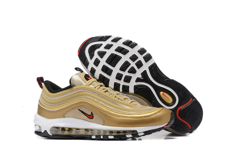 air max 97 noir gold