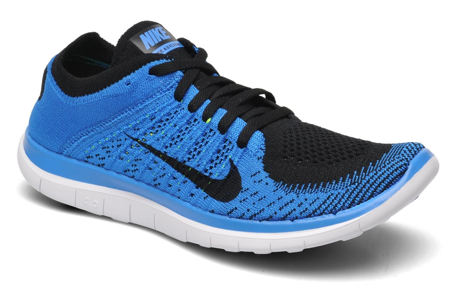 the best attitude 616b2 4e5da nike free run 4.0 flyknit blue SKU- UCc
