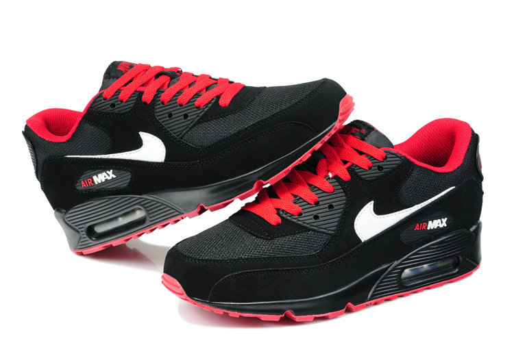 air max 90 noir rouge