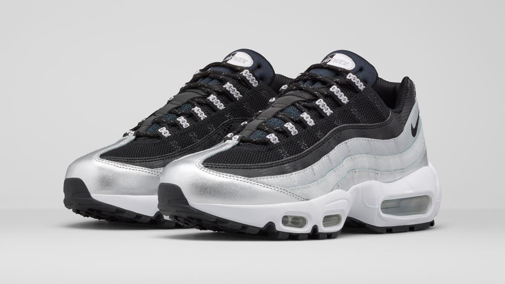 detailed look 7d0c4 b277b air max 95 blanche noir EIKG- c8DX