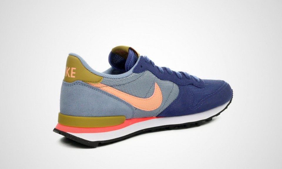 nike internationalist femme bleu