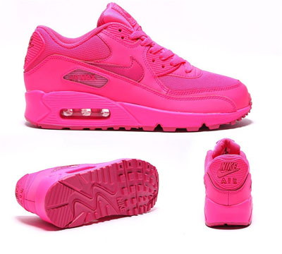 dad87240a4446 air max 90 femme rose fluo SKU- 9FvJKjJu