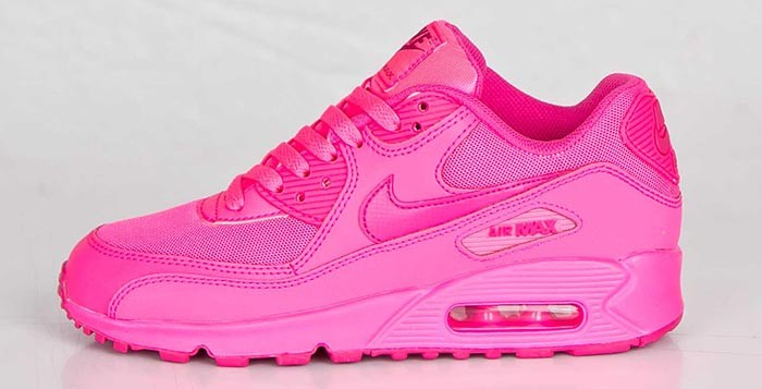 code promo 8159d 5a303 wholesale nike air max 90 femme rose fluo 0291a 82034