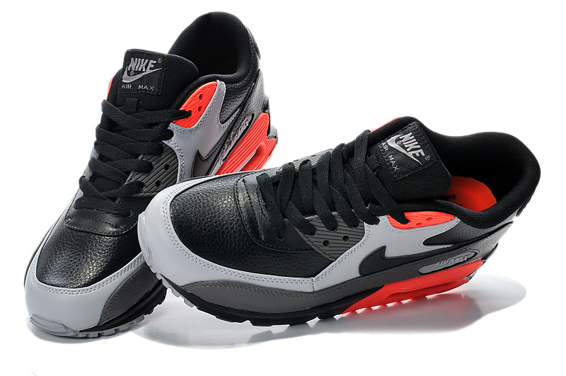 magasin en ligne 7ddd3 ae737 France Nike Air Max 90 Essential Noir Blanche Rouge Baskets Hommes