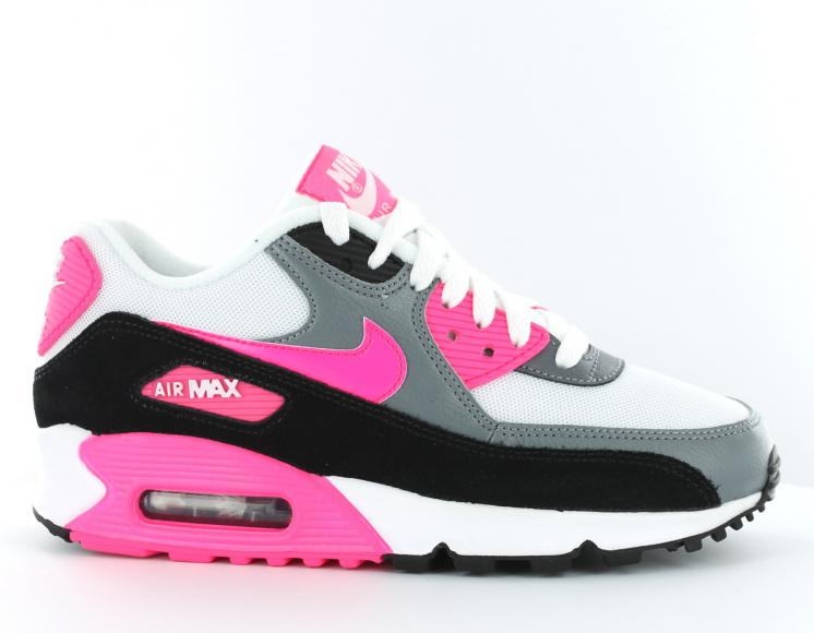 air max rose et blanc