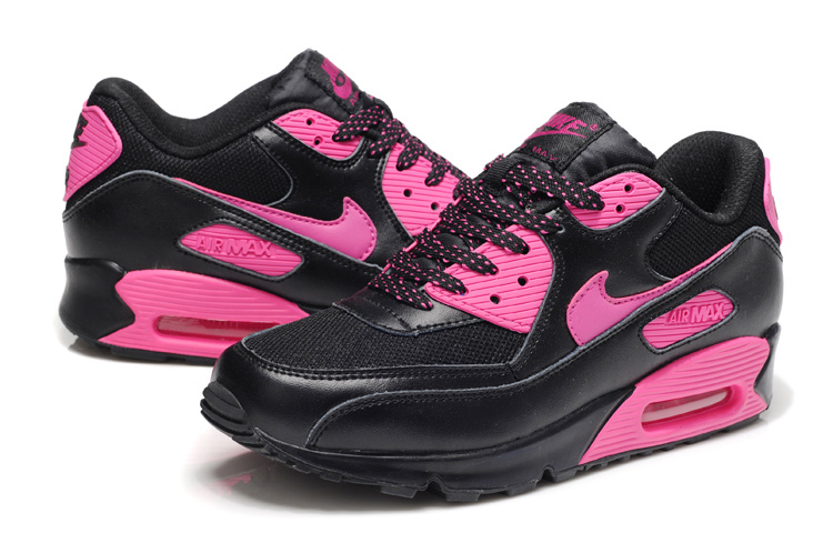 air max 90 noir rose