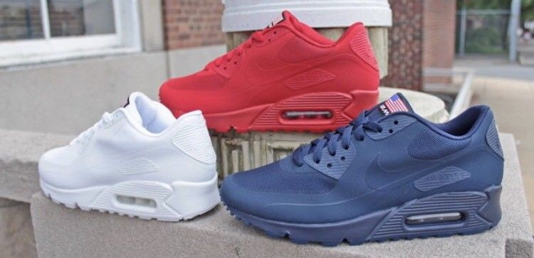 czech nike air max 90 hyperfuse qs independence day for