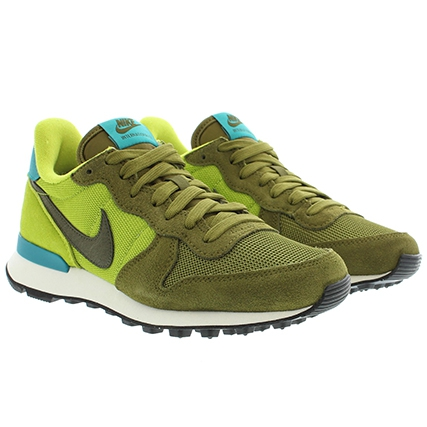 nike internationalist femme vert