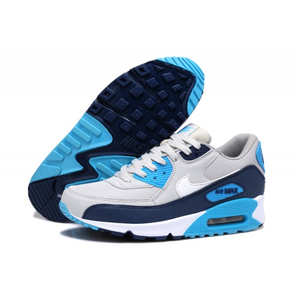 magasin d'usine 31eb0 3a952 air max 90 bleu blanc gris WISH DLYjPQJk