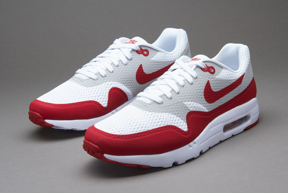 save up to 80% best supplier new arrive usa nike air max 1 essential gris rouge 123db 615cd